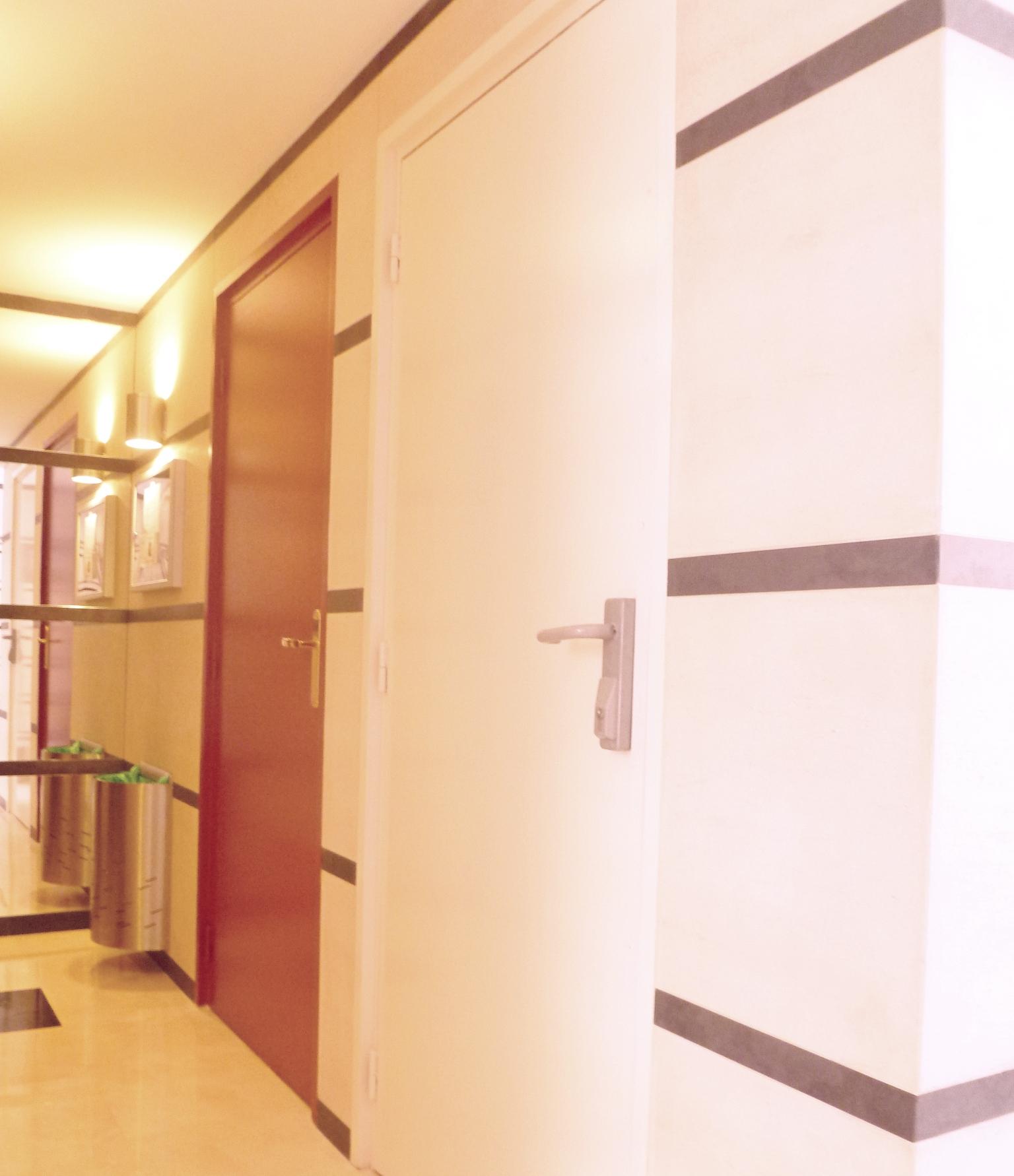 Travaux de peinture et rev tement mural hall d 39 entr e - Hall d entree peinture ...